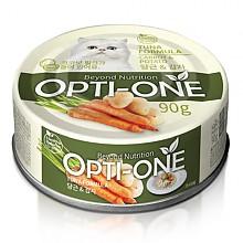 [고양이간식] 옵티원 캣캔 당근 감자 90g (24개입)