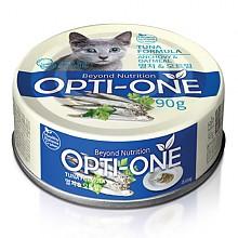 [고양이간식] 옵티원 캣캔 멸치 오트밀 90g (24개입)