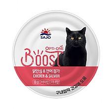 [고양이간식] 옵티원 부스트 닭,연어 160g (24개입)